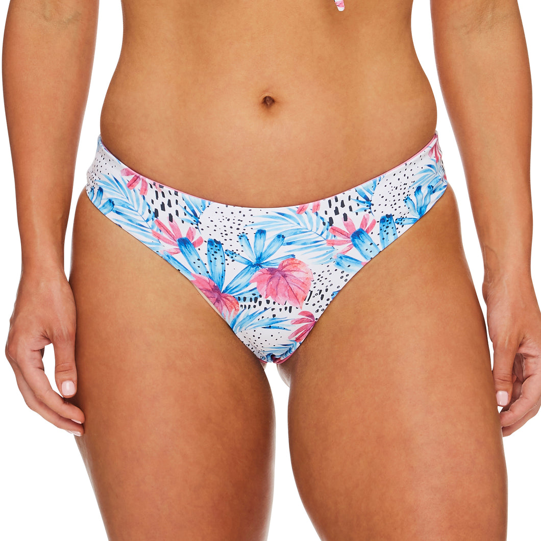Miss Boracay / Palm blue pink luxury bikini bottom