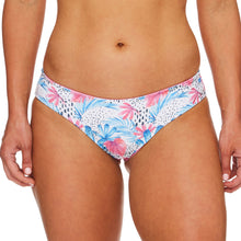 Load image into Gallery viewer, Miss Santorini / Palm blue pink luxury bikini bottom