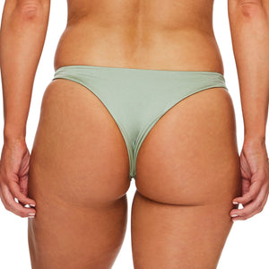 Miss Capri / Mist green luxury bikini bottom