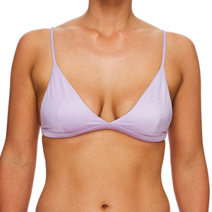 Miss Bondi / Mermaid purple luxury bikini top