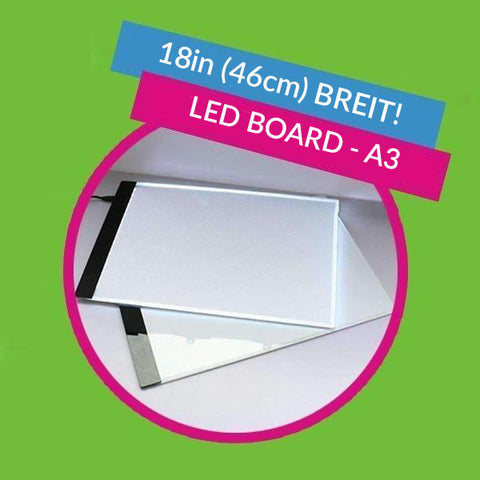 Image of A3 Professionelles LED Board - 46cm
