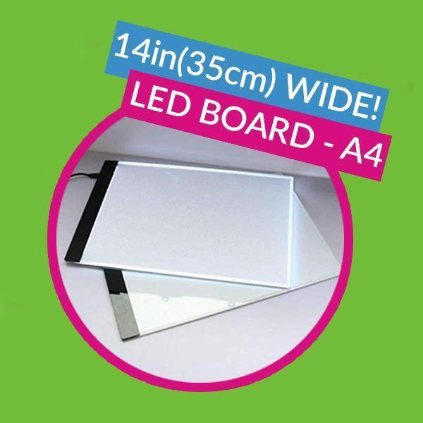 A4 Professional LED Board - 13x8in (33x21.5cm)-EasyWhim