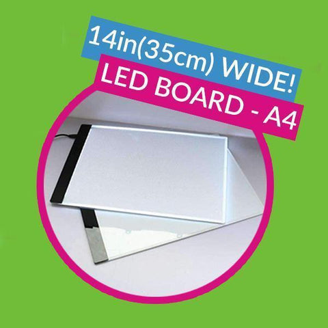 Image of A4 Professional LED Board - 13x8in (33x21.5cm)-EasyWhim