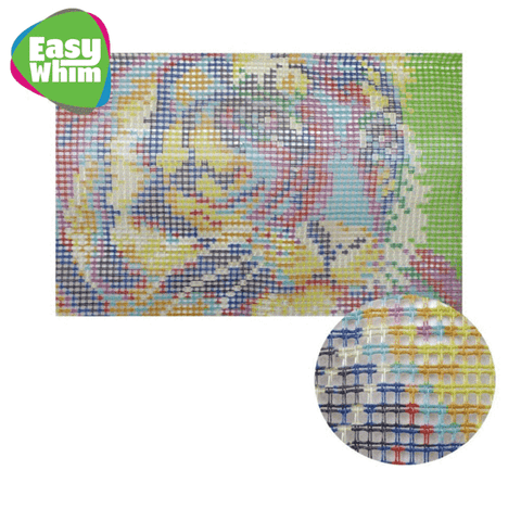 Abstract Colors Rug - DIY Latch Hook Kit-EasyWhim