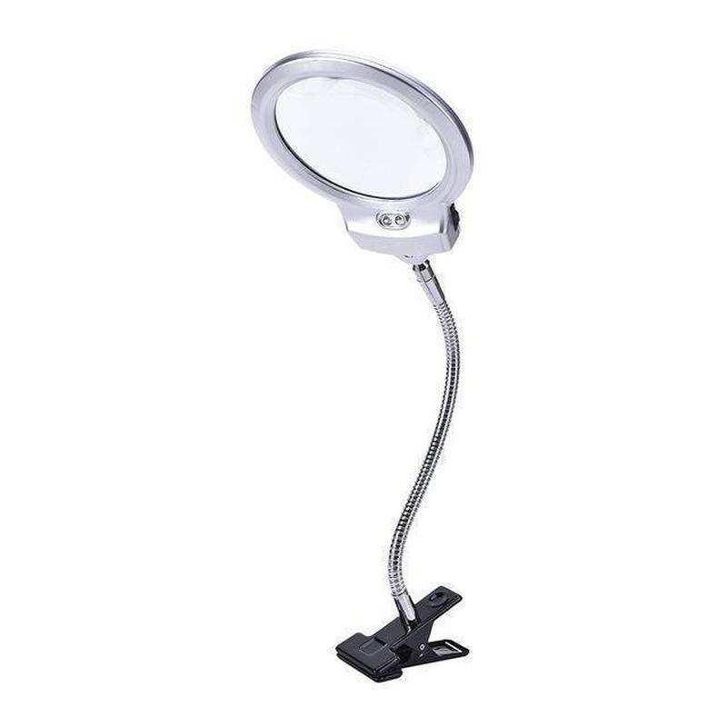 Adjustable LED Magnifier Clip Task Lamp - DIY 5D Diamond Painting-EasyWhim