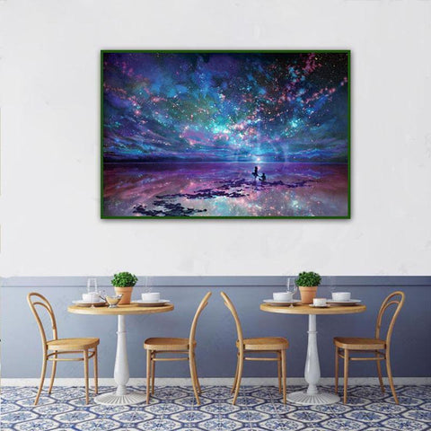 Aurora - DIY 5D Diamond Painting - Full Drill-EasyWhim