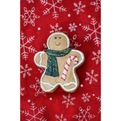 Image of Cute Gingerbread - DIY 5D Diamond Painting - Full Drill-EasyWhim
