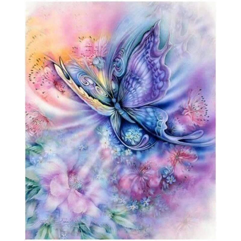 Fantasy Butterfly - DIY 5D Diamond Painting - Full Drill-EasyWhim