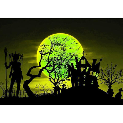 Image of Fantasy Halloween - DIY 5D Diamond Painting - Full Drill-EasyWhim