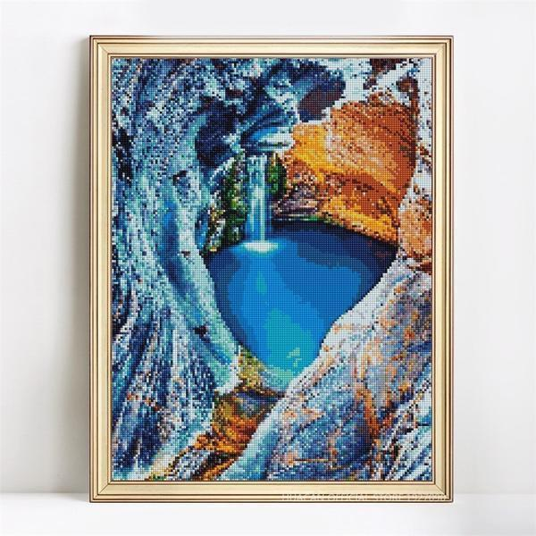 Hidden Paradise - DIY 5D Diamond Painting - Full Drill-EasyWhim