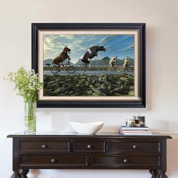 Horse Race - DIY 5D Diamond Painting - Full Drill-EasyWhim