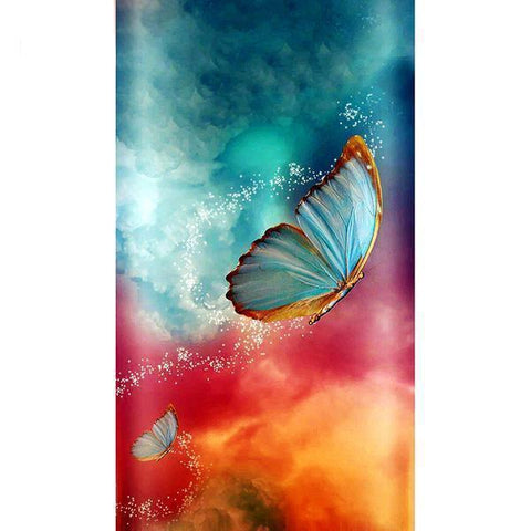 Image of Nebular Butterfly - DIY 5D Diamond Painting - Full Drill-EasyWhim