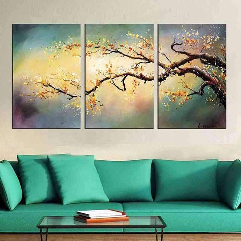 Image of Peach Tree Multi Drawing - DIY 5D Diamond Painting - Full Drill-EasyWhim