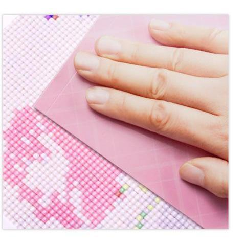 Pink Beauty - DIY 5D Diamond Painting - Full Drill-EasyWhim