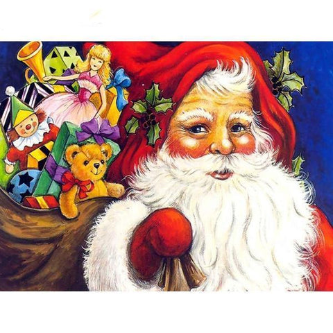 Image of Santa's Gifts - DIY 5D Diamond Painting - Full Drill-EasyWhim