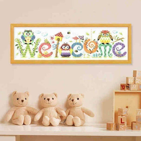 Image of Welcome - DIY 5D Diamond Painting - Full Drill-EasyWhim