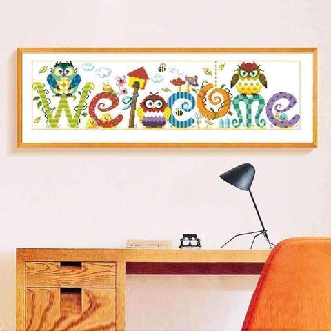 Welcome - DIY 5D Diamond Painting - Full Drill-EasyWhim
