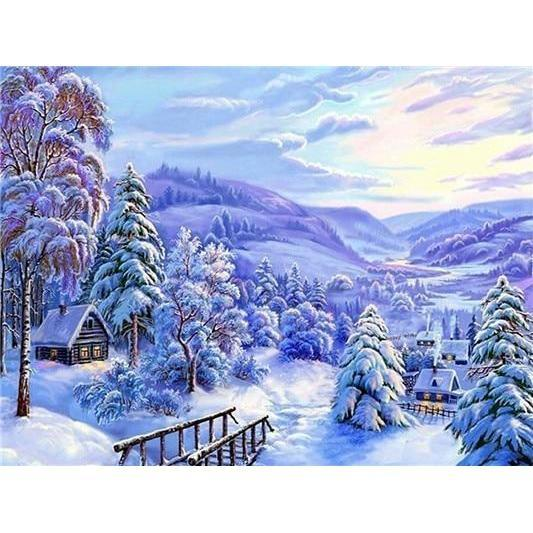 Winterland - DIY 5D Diamond Painting - Full Drill-EasyWhim