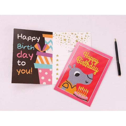 Cute Animal Birthday Cards - DIY 5D Diamond Painting-EasyWhim