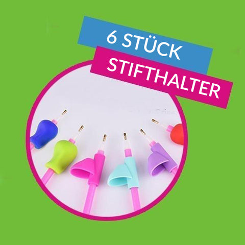 Easy Grip Stifthalter (6Pack) - DIY 5D Diamond Painting (Diamanten Malerei)