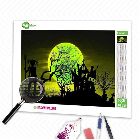 Image of Fantasie Halloween - DIY 5D Diamond Painting (Diamanten Malerei)