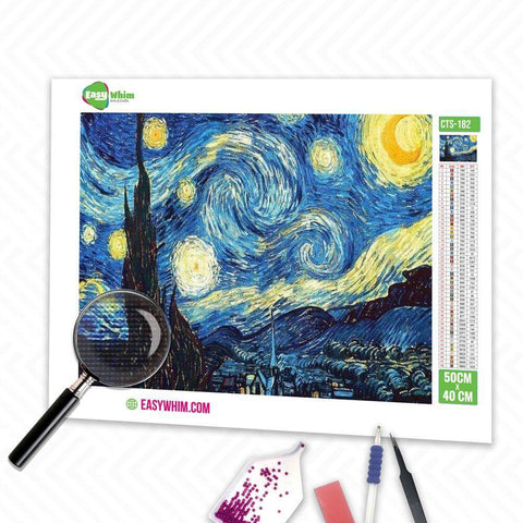 Image of Sternennacht - DIY 5D Diamond Painting (Diamanten Malerei)