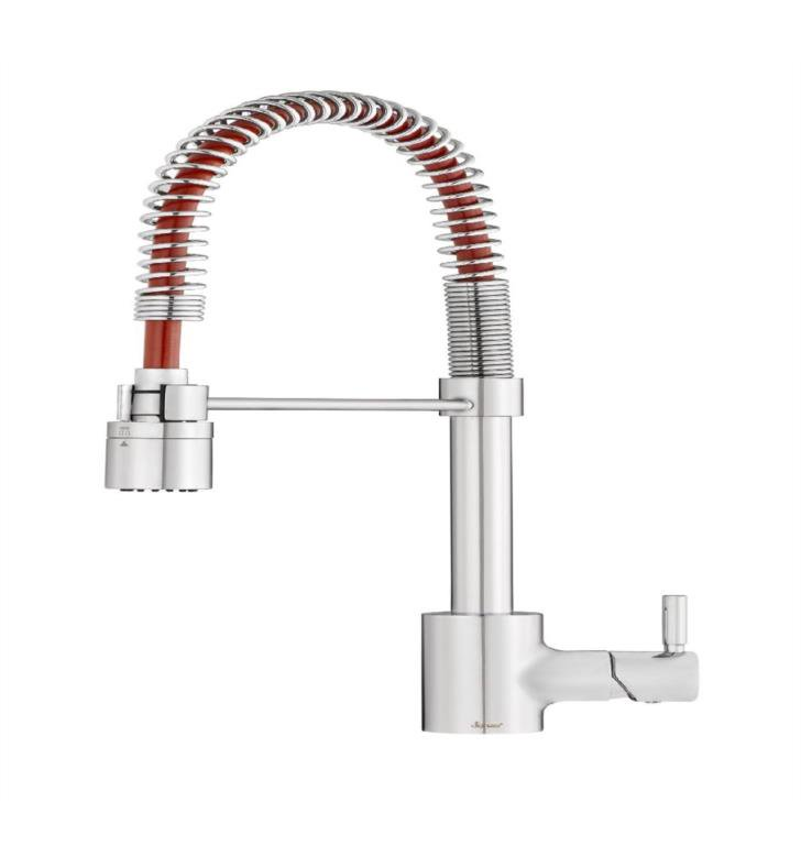 Danze The Foodie Caliente 1h Pre Rinse Pull Down Kitchen Faucet 1 75gp Gs Design Center