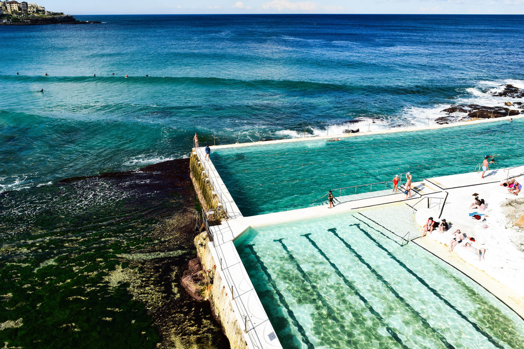 Bondi Pools Photographic Print