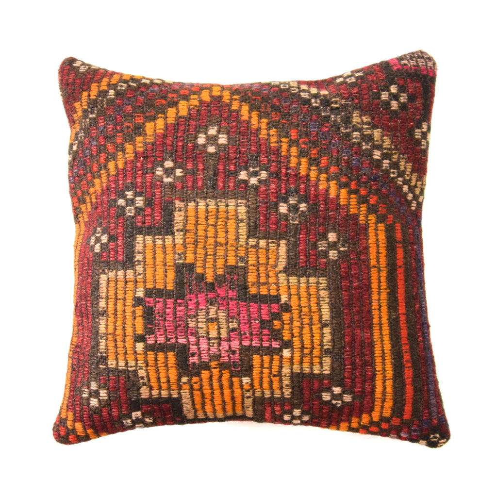 Arabic Kilim Pillow (16x16)