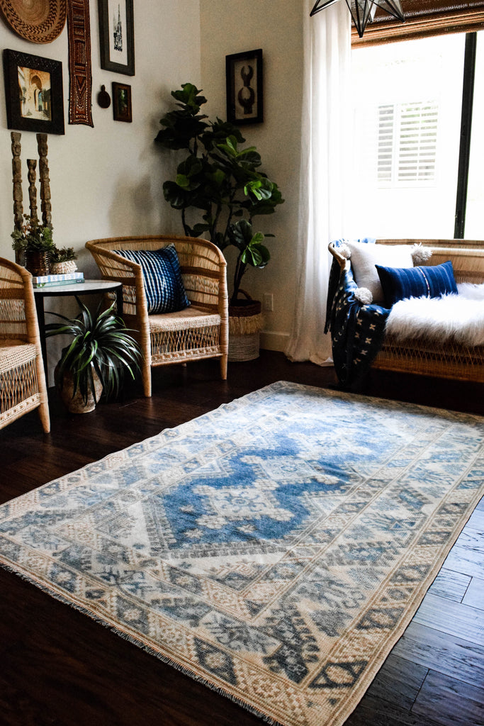 Atlantis Vintage Turkish/ Antolian Oushak Carpet