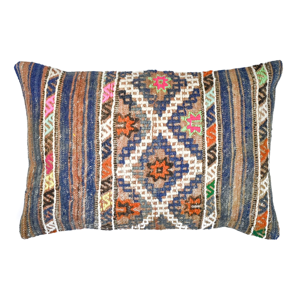 Salvatore Lumbar Kilim Pillow (16x24)