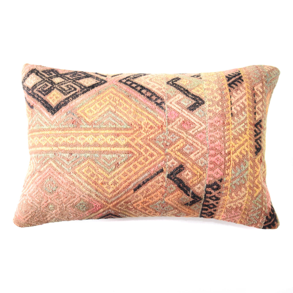 Destiny Lumbar Kilim Pillow (16x24)