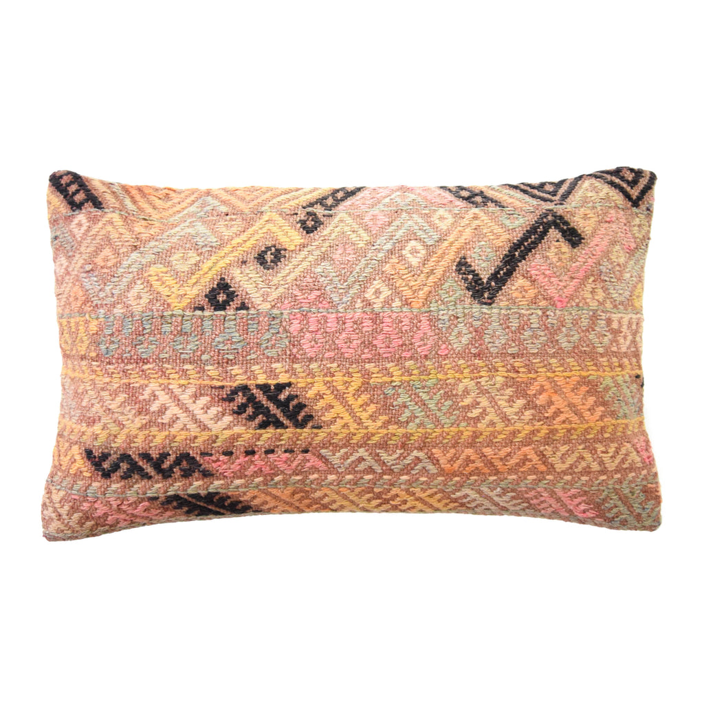 Destiny Lumbar Kilim Pillow (12x20)