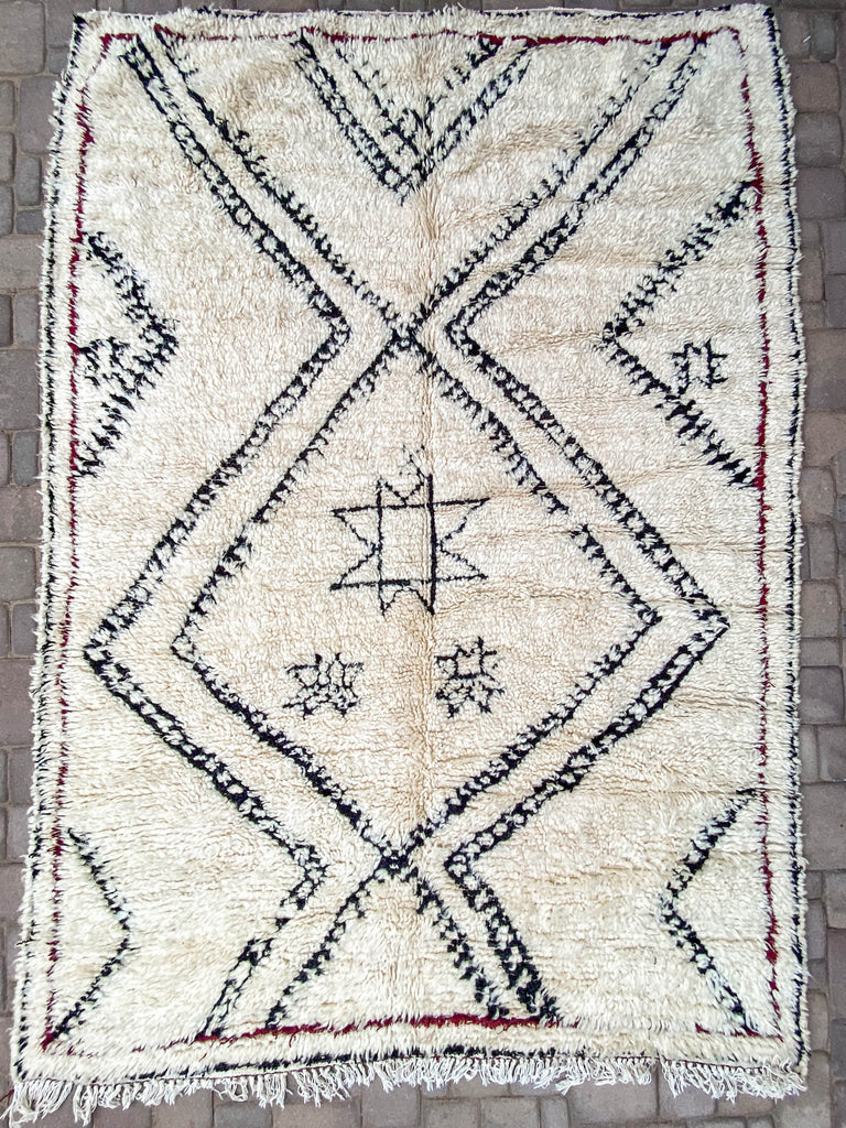North Vintage Berber Rug