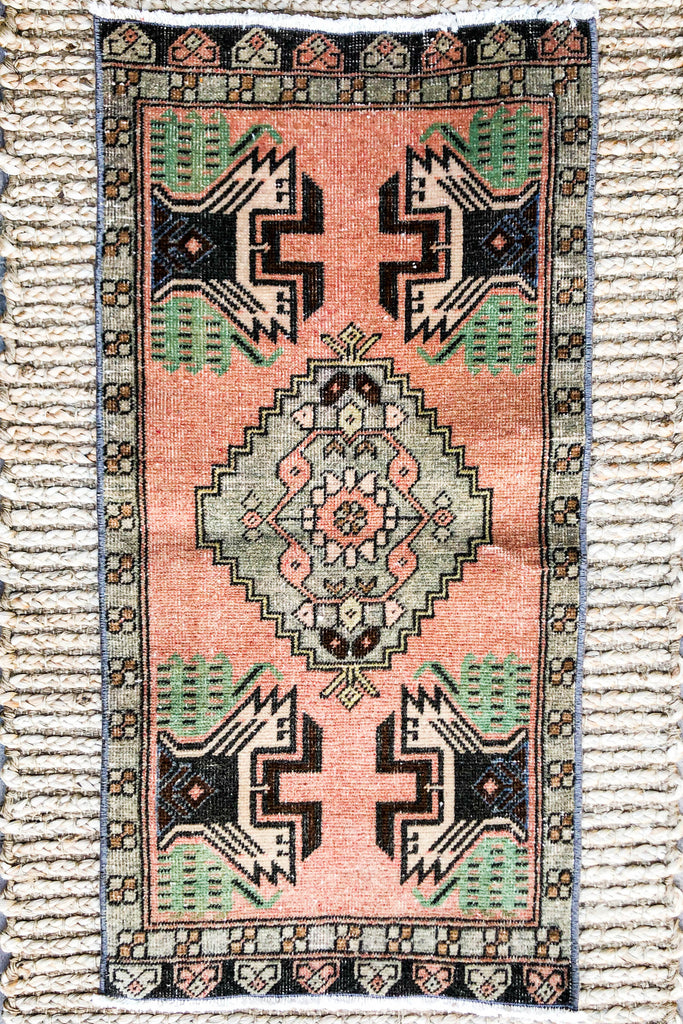 Shannon Vintage Turkish/ Antolian Oushak Carpet