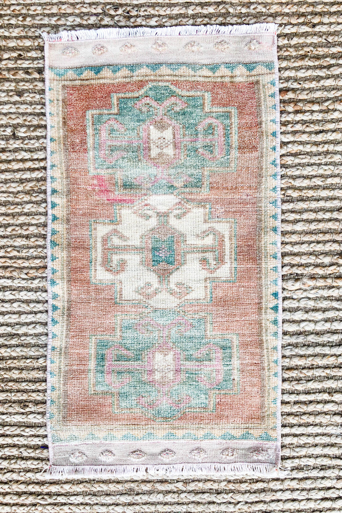 Simone Vintage Turkish/ Antolian Oushak Carpet
