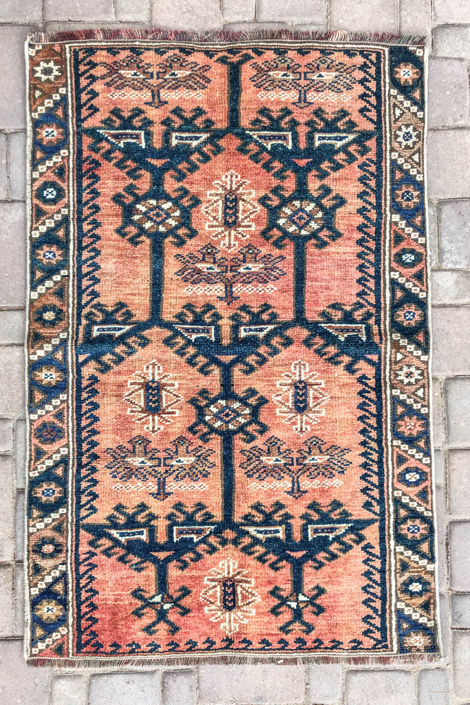 Odyssey Vintage Turkish/ Antolian Oushak Carpet