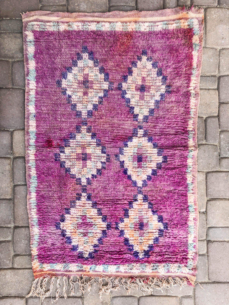 Sophia Antique Berber Rug