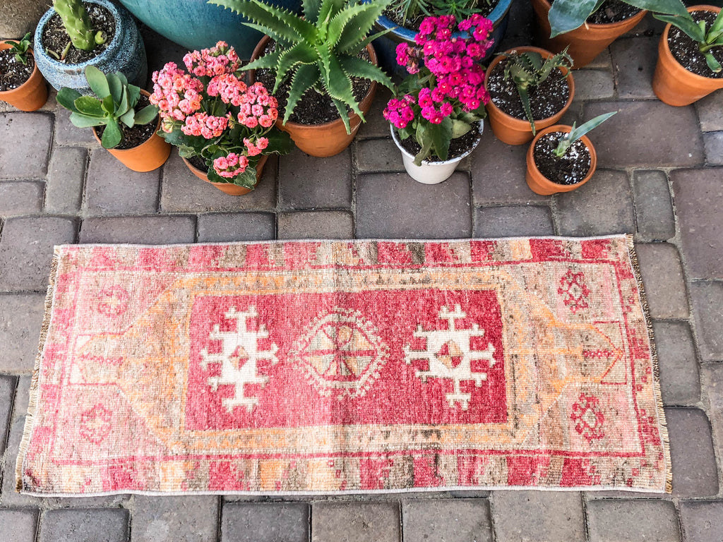 Marnie Vintage Turkish/ Antolian Oushak Carpet