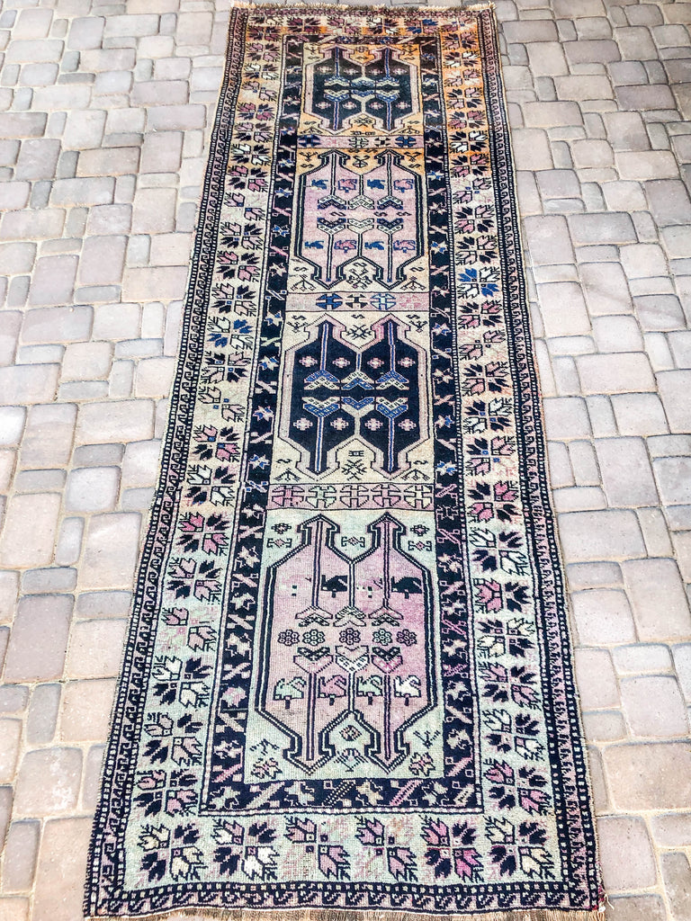 Journey Vintage Oushak Runner Carpet