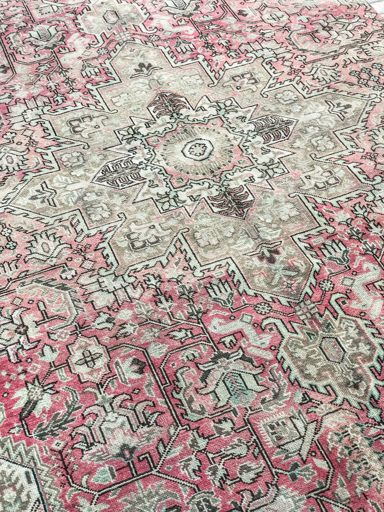 Carmen Vintage Turkish/ Antolian Oushak Carpet