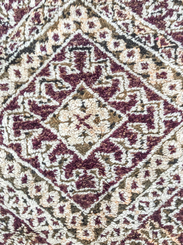 Queen Vintage Berber Carpet