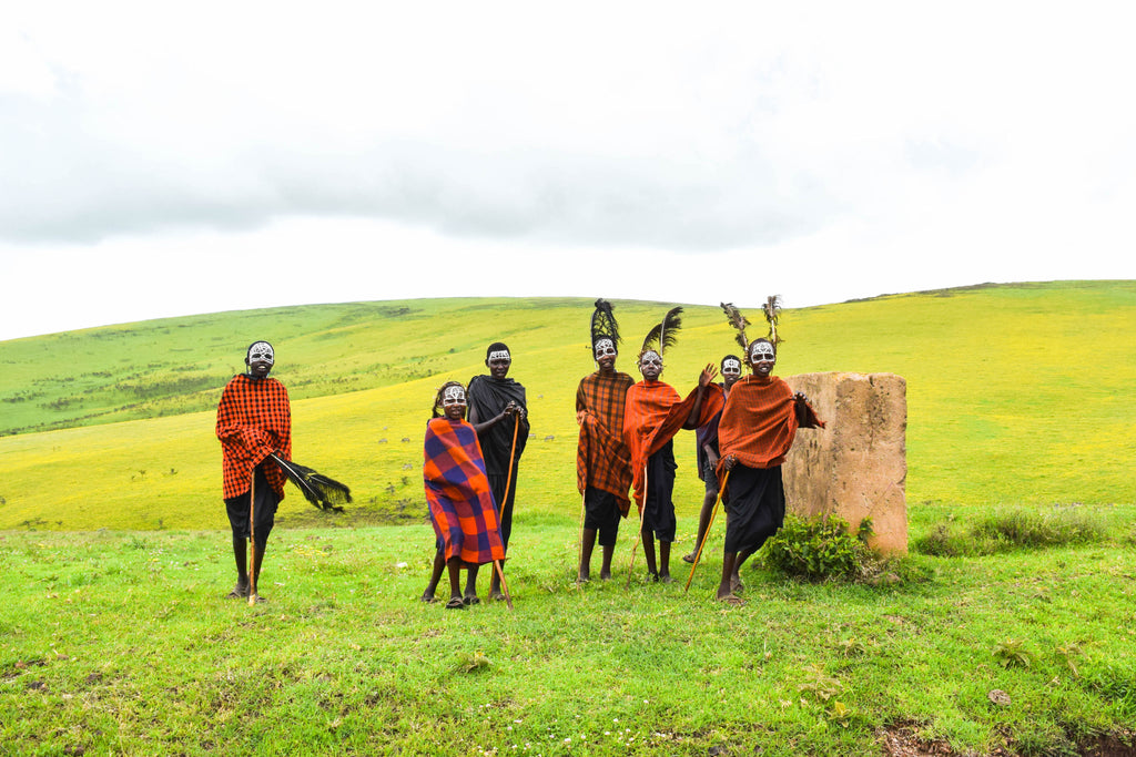 Maasai Children Photographic Print