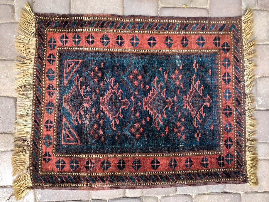 Sedona Vintage Turkish/ Antolian Oushak Carpet