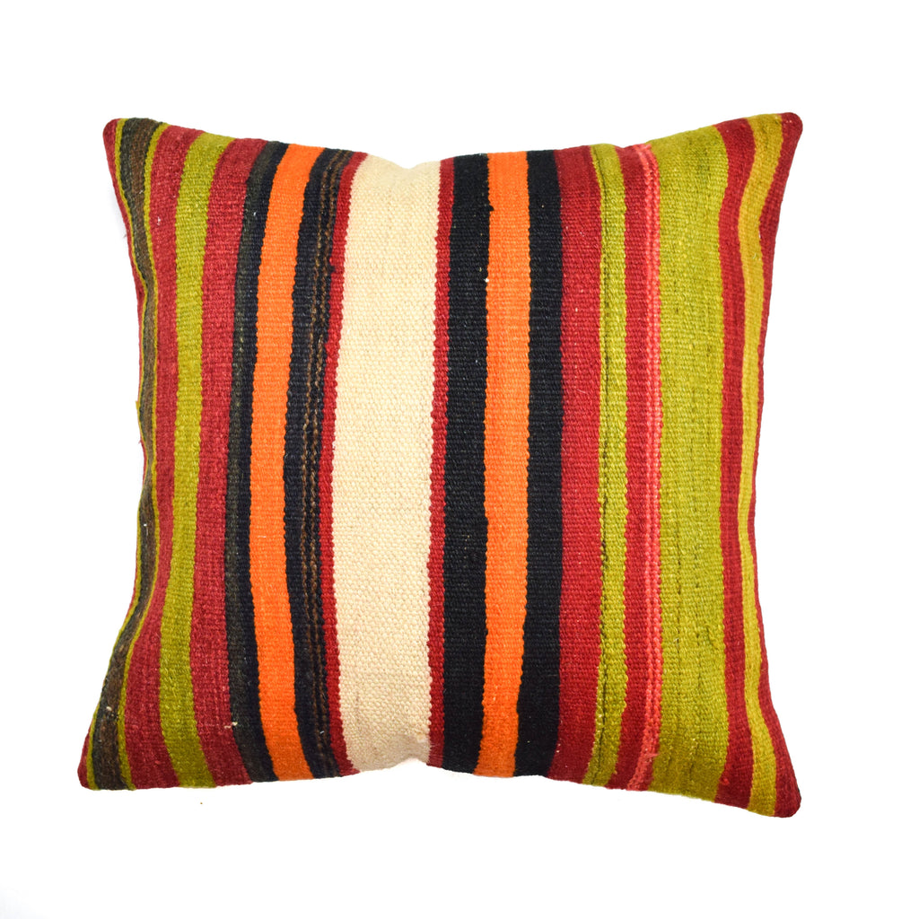 Tibet Stripe Kilim Pillow (20x20)