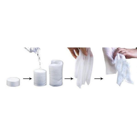 100pcs Portable Travel Towels