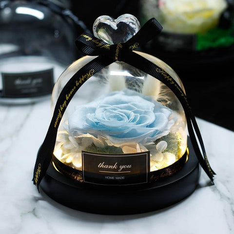 Image of Eternal Rose in Glass Dome