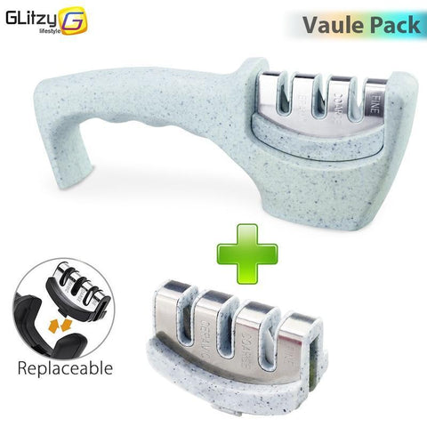 Image of marble 3 stages professional knife sharpener