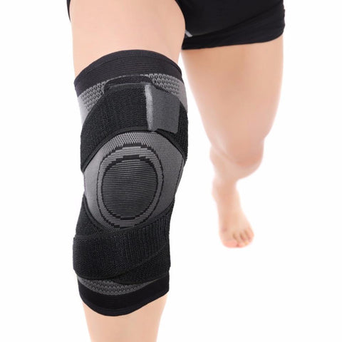best 2019 Pressurized Fitness Running Cycling Bandage Knee Support Braces Elastic Nylon Sports Compression Pad Sleeve