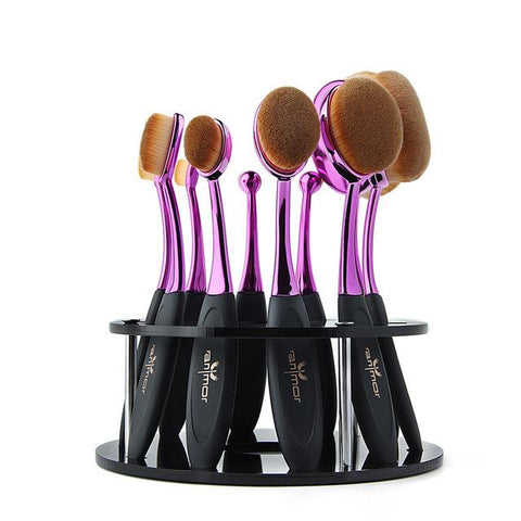 Image of 10 PIECE OVAL BRUSH SET